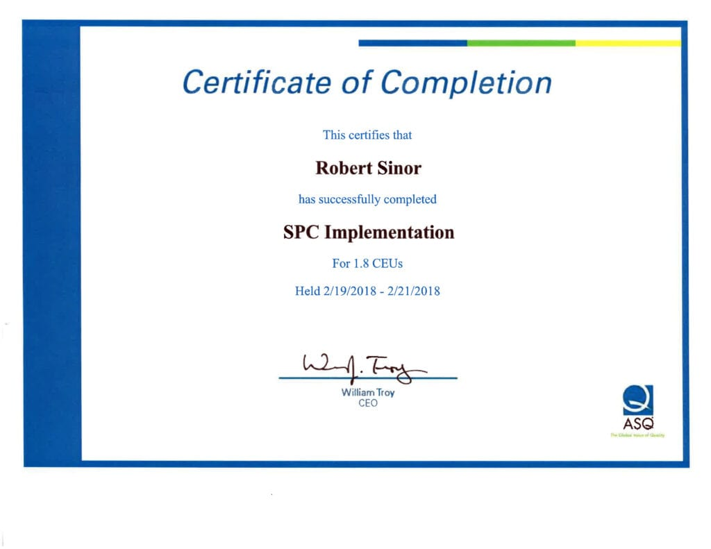 SPC Implementation