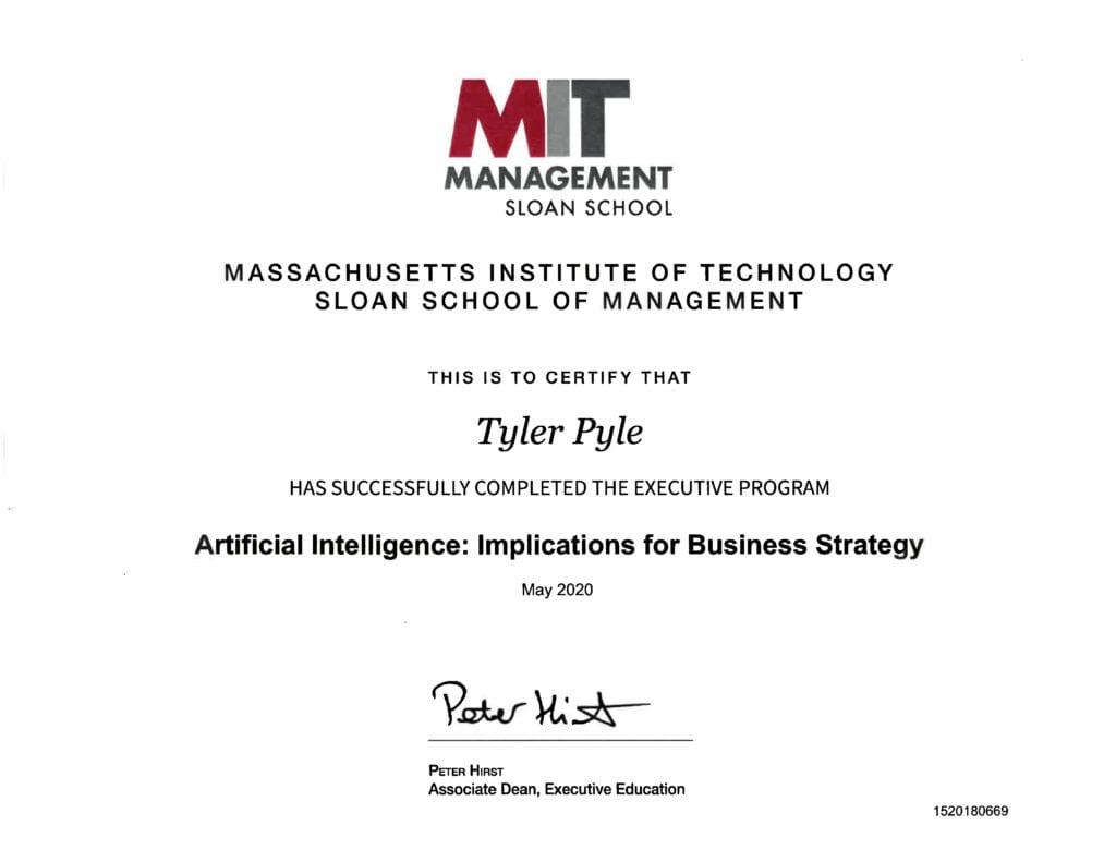 MIT Artificial Intelligence