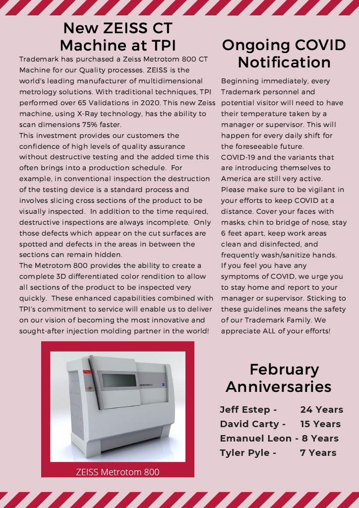 Trademark Gazette - February 2